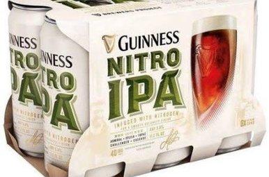 Beer: Guinness Nitro IPA 6 Pack
