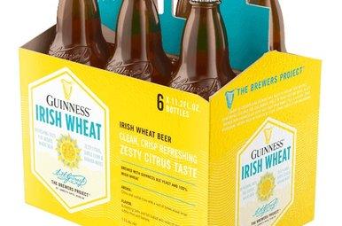 Beer: Guinness Irish Wheat 6 Pack