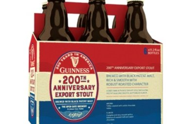 Beer: Guinness 200th Anniversary Export Stout, 6 Pack