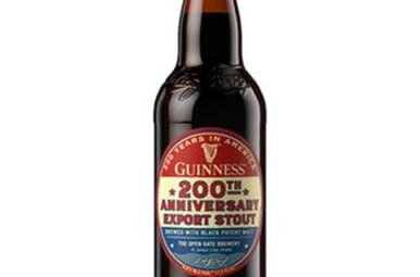 Beer: Guinness 200th Anniversary Export Stout, Single Bottle