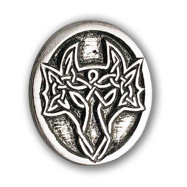 Lapel Pin: Pewter Dragon