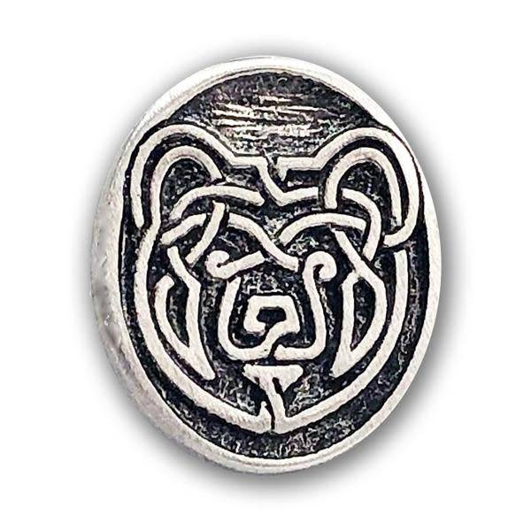 Lapel Pin: Pewter Bear
