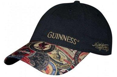 Hat: Baseball Guinness Vintage Label