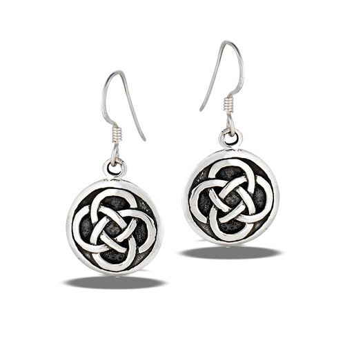 Earrings: SS Celtic Inerlocking Weave