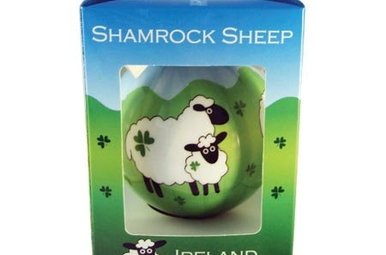 Ornament: Shamrock Sheep