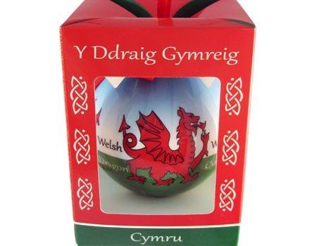 Clara Ornament: Welsh Dragon