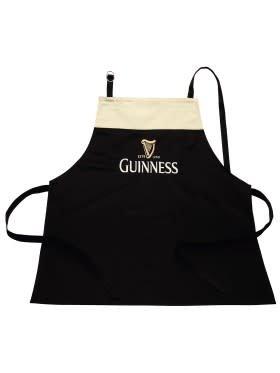 Guinness: Blk/Cream Apron