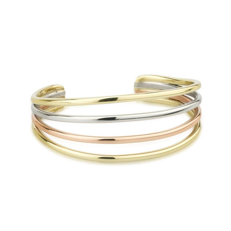 Bracelet: Bangle 3 Color Strand