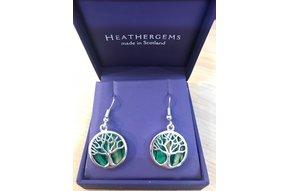 Earring: Heathergems Tree of Life