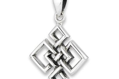 Pendant: SS Endless Knot