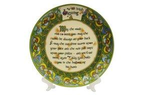 """Plate: An Old Irish Bless, 8"""""""