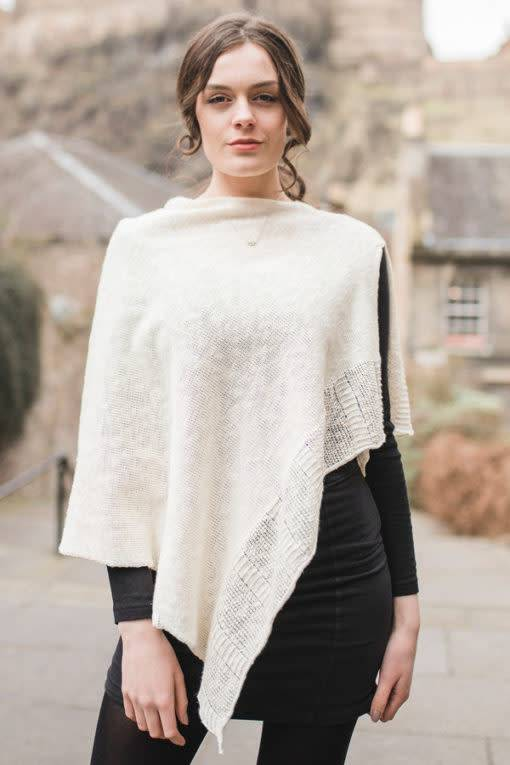 Cape: Linen & Cotton Ecru