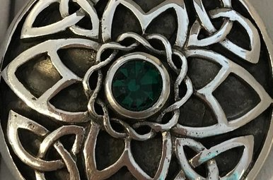 Brooch: Celtic Knotwork