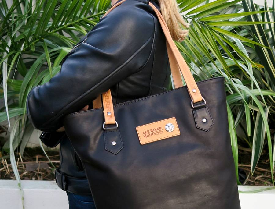 Bag: Black Leather