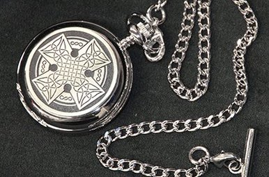 Pocket Watch: Celtic Cross