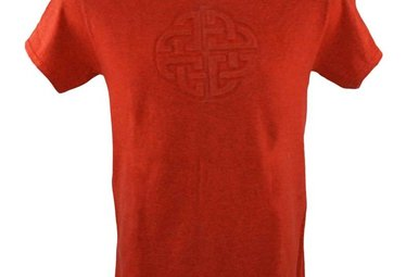 T Shirt: Love Knot Embossed