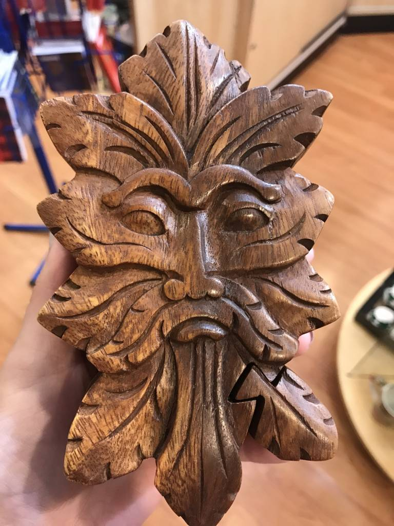 Puzzle Box: Green Man