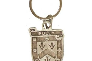Keychain: Pewter Clan Irish