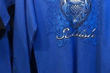 T Shirt: Long Sleeve Forever Scottish