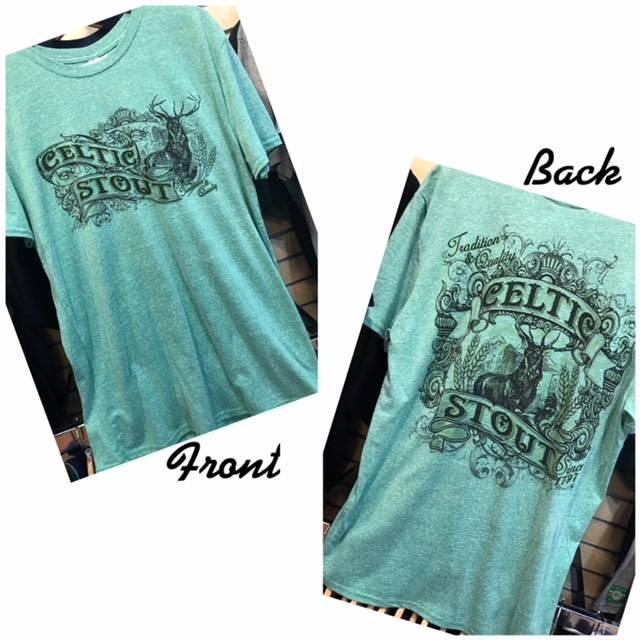 T Shirt: Celtic Stout Short Sleeve