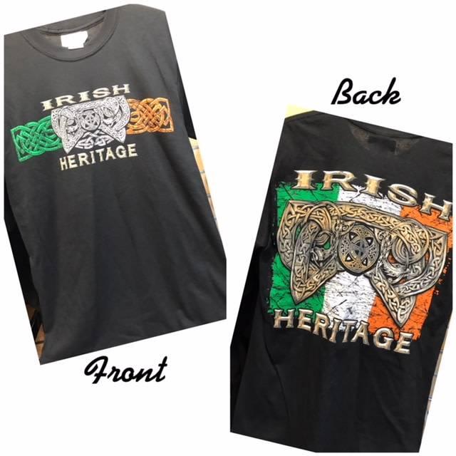 T Shirt: Irish Heritage