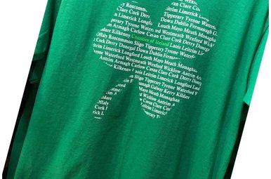 T Shirt: Counties of Ireland Shamrock