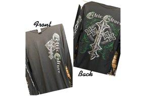 T Shirt: Long Sleeve Celtic Culture