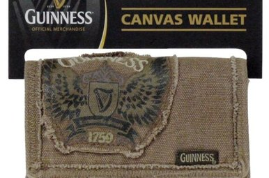 Guinness: Canvas Wallet
