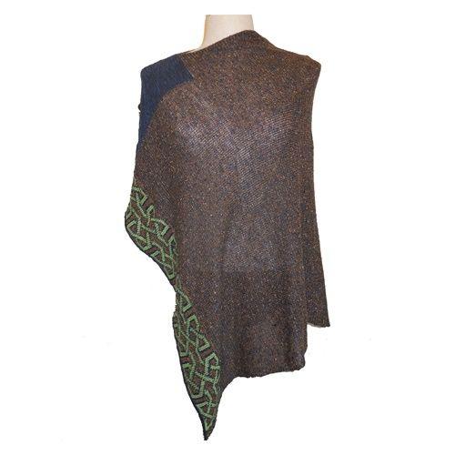 Cape: Silk and Linen Ballater Chestnut