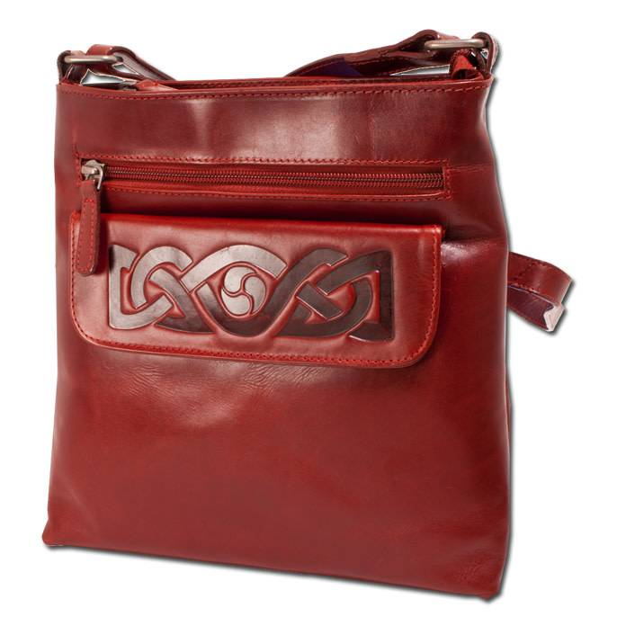 Bag: Mary Leather Red