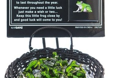 Charm: Lucky Little Frog