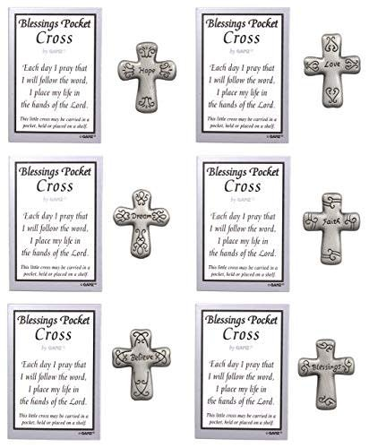 Charms: Blessings Pocket Crosses