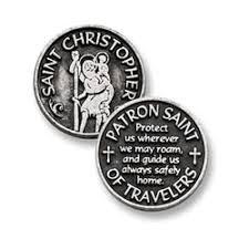 Pocket Token: St. Christopher