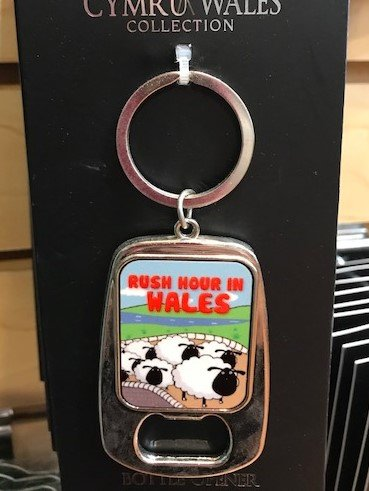 Keychain: Wales Rush Hour Bottle Opener