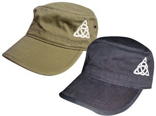 Hat: Green Corps Hat Trinity Knot