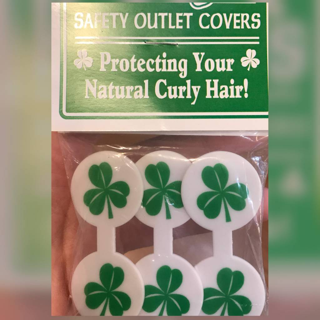 Outlet Cover: Paddy's/Shamrock