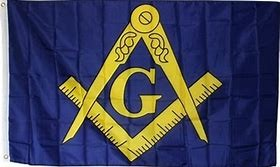 Flag: Masonic (B/G), Poly 3x5