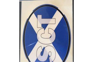 Sticker: Flag Oval, Scotland ABV (SCO)