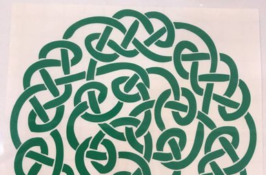 Sticker: Celtic Circle, Green