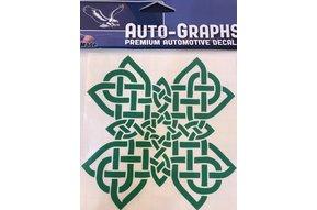 Sticker: Celtic Cross, Green