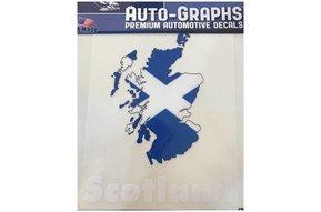 Sticker: Flag Country, Outline, Scotland