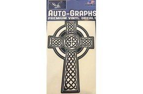 Sticker: Celtic Cross, Traditional