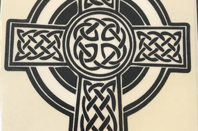 Sticker: Celtic Cross, Traditional