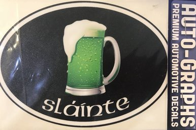 Sticker: Green Beer Mug