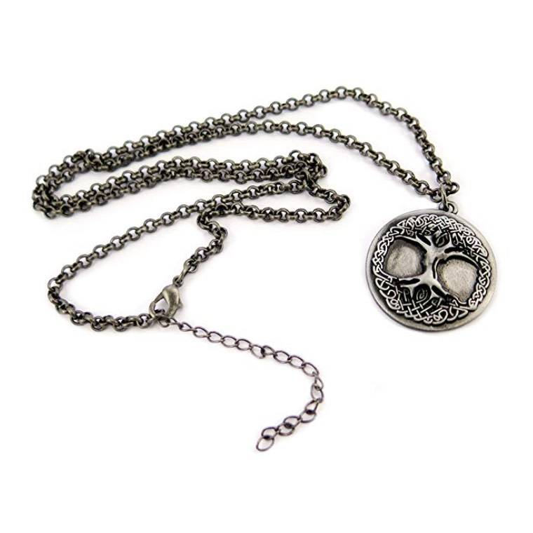 Pendant: Tree of Life, Chain & Pewter