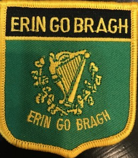 Patch: Erin Go Bragh Flag Shield