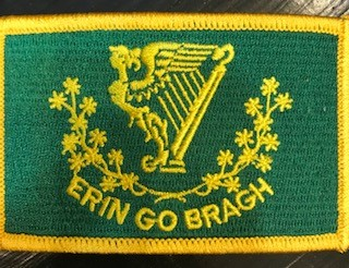 Patch: Erin Go Bragh Flag