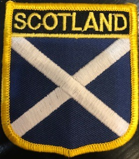 Patch: Scotland Flag Shield