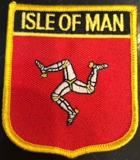 Patch: Isle of Man Flag Shield