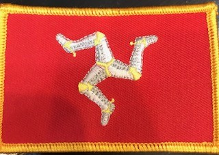 Patch: Isle of Man Flag